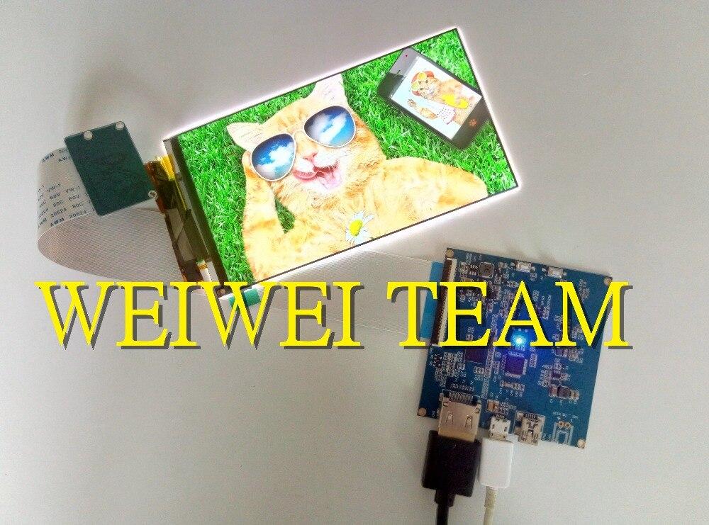 5,5 дюймов 4 К TFT ЖК дисплей модуль панели экран с HDMI MIPI драйвер платы контроллера для DLP/SLA 3D принтер KLD 2160x3840