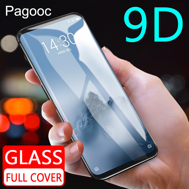 Tempered-Glass Protector-Film Meizu M15 15-Lite-Plus M6 Note for M8 M6t/m6s on The Full-Cover