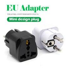 Universel royaume-uni US AU à l'ue branchez les adaptateurs d'alimentation de voyage ca en France allemagne grèce espagne pays-bas convertisseur chargeur électrique
