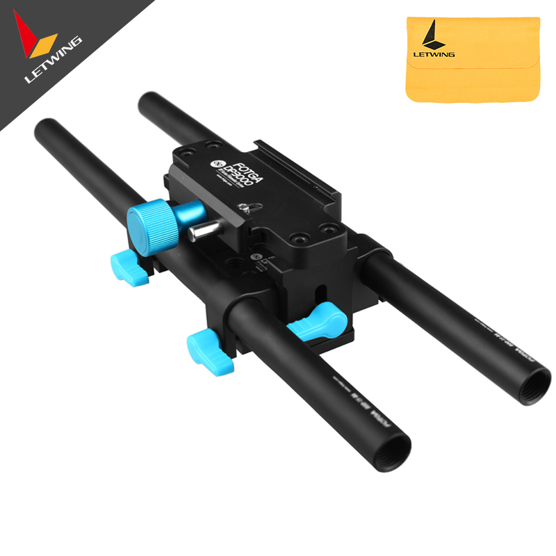 New Arrival FOTGA DP3000 M4 15mm Rail Rod Support BasePlate for Matte Box DSLR Cam HDV Follow focus Rig cresfimix zapatos de mujer women fashion pu leather slip on flat shoes female soft and comfortable black loafers lady shoes