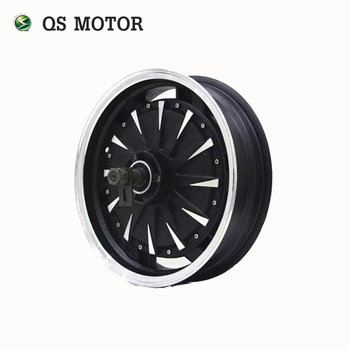 QS MOTOR 14inch 2000W 260 35H V1 48V Brushless DC Electric Scooter Motorcycle In Wheel Hub Motor image