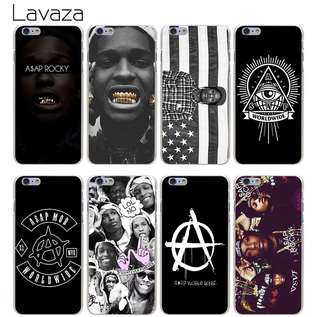 new arrivals e5841 2b121 US $2.25 |Lavaza A$AP Asap Rocky Case for iPhone XS Max XR X 8 7 6 6S Plus  5 5s se-in Half-wrapped Case from Cellphones & Telecommunications on ...