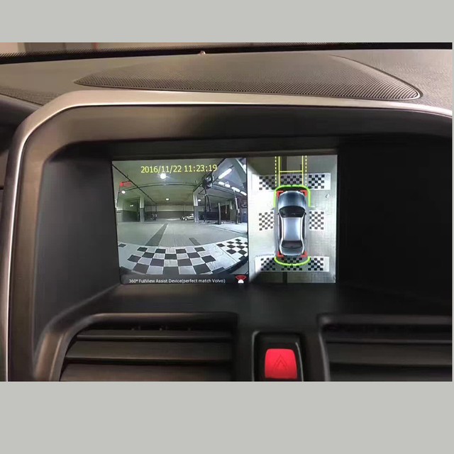 buy high definition 360 degree bird 39 s eye view panoramic car camera for volvo. Black Bedroom Furniture Sets. Home Design Ideas