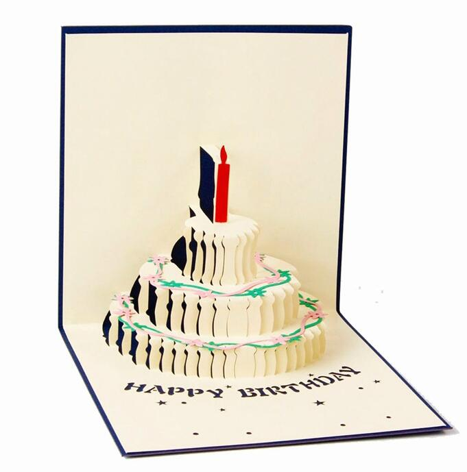 3d Pop Up Greeting Card Handmade Happy Birthday Easter Valentines