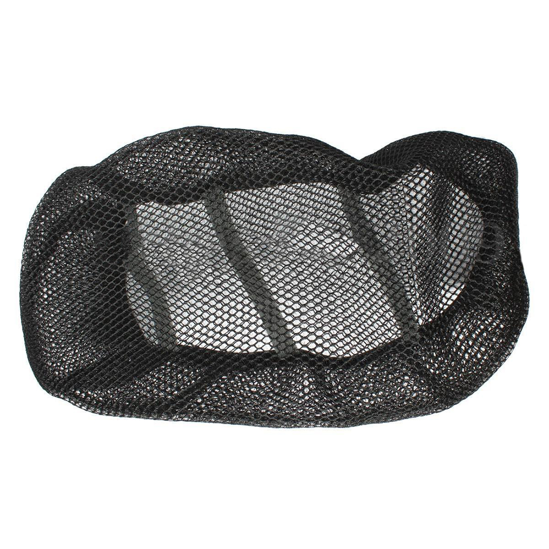 Promotion! 3D Black Motorcycle Electric Bike Net Seat Cover Breathable Protector Cushion