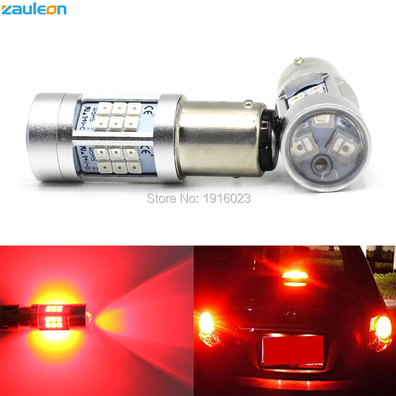 2pcs Auto LED lamp 1157 P21/5W Red Taillight Brake Light Car-styling Rear bulb BAY15D LED Car lamp 5pcs 1157 led bulb high quality 5 arms expandable 40 smd red auto xenon bay15d brake light bulb lamps for ford focus car styling