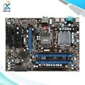 Para msi p45-c51 original usado motherboard desktop para intel p45 atx socket lga 775 ddr3 8g sata2