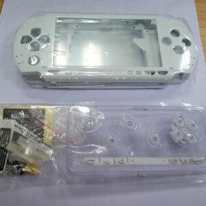 Image 5 - 10 colores cobertura completa Funda carcasa para Sony PSP1000 con botón caja de cubierta protectora cubierta para PSP 1000