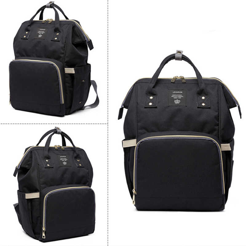 Bolso de bebé de gran capacidad de marca de moda mochila de viaje de diseño bolso de enfermería para bebé mamá Mochila De mujer bolsas de transporte