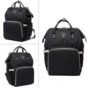 Image 3 - Fashion Brand Large Capacity Baby Bag Travel Backpack Designer Nursing Bag for Baby Mom Backpack Women Carry Care Bags