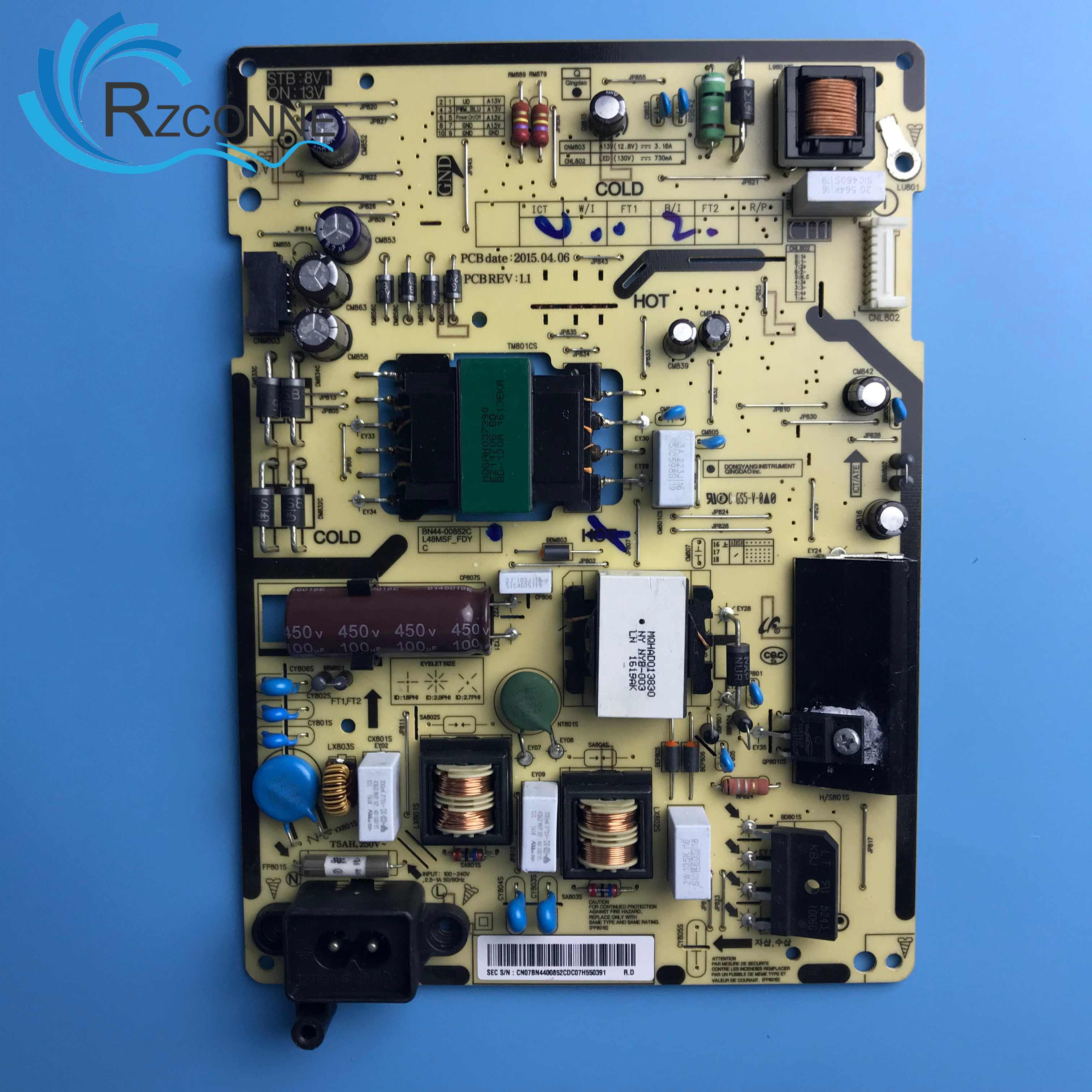 Power Board Card SupplyL48MSF-FDY BN44-00852C  For 48 Inch Samsung LCD TV UA48KF21EAJ