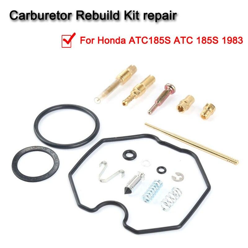 Carburetor Carb Rebuild Kit Repair for Honda ATC185S ATC 185S 1983 New