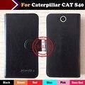 Hot!! em Estoque Caterpillar CAT S40 Caso 6 Cores Dedicado Couro Exclusivo Para Caterpillar CAT S40 Tampa Do Telefone + Rastreamento