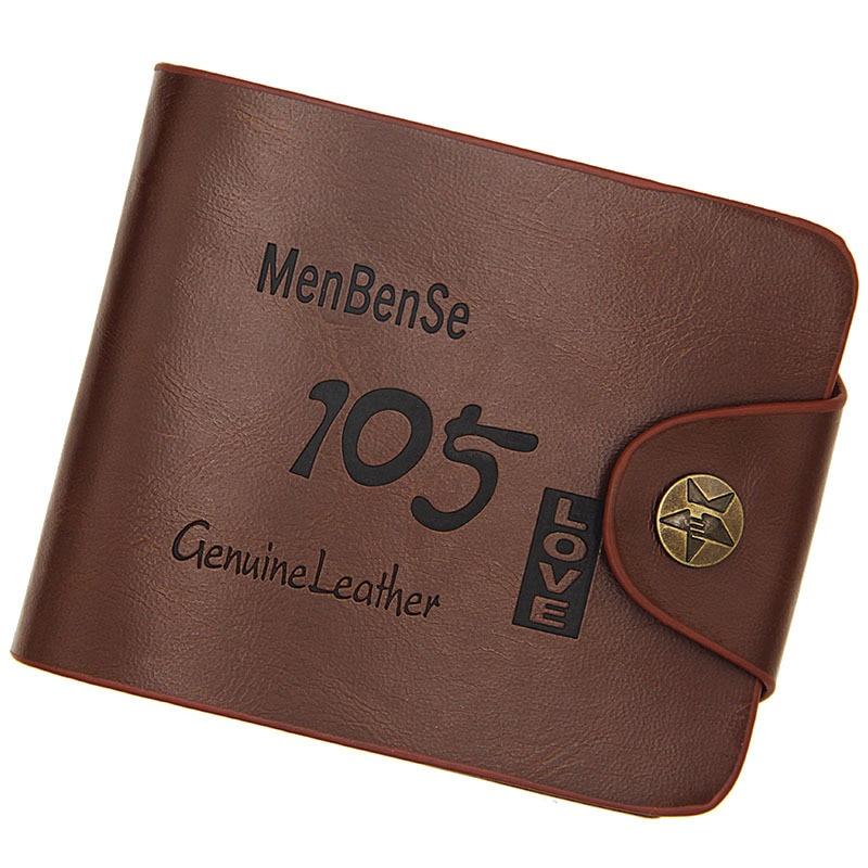 2018 Vintage Wallet Men Wallets Purse Causal Coin Pocket Wallet Mens Three-fold Wallet Leather Short Clutch Wallets For Men