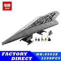 LEPIN 05028 05027 Star Series Wars Star Destroyer Set Building Blocks Bricks Toy Model Children Gift Compatible 10221 10030