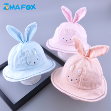 ZMAFOX 2019 spring kids bucket sun hats sweet baby boy girl cotton cap infants outdoor visor summer sunscreen fisherman hat caps