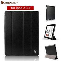 Hot Sale Item Screen Protector New Arrival Smart Case For IPad 4 3 2 Cover PU