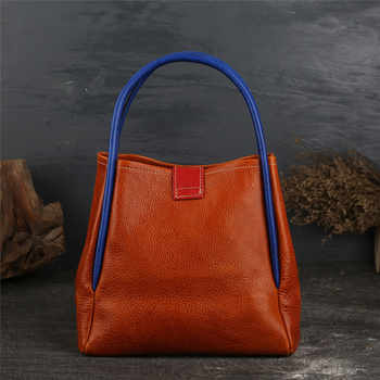 Luxury Brand Designer Leather Handbag for Women Bags Genuine Leather Retro Bag Female Cow Leather Quality Handbag Shoulder Bag