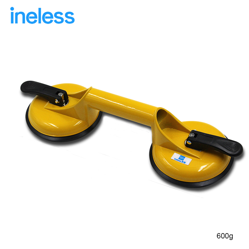 100kg 2 in 1 Suction Cup Big Size Single Hand Suction Cup Dent Remover Sucker Aluminum Puller Car Glass Lifter Holder Metal Pad free shipping vacuum cup glass lifter rubber hand pump suction cups hps204y p