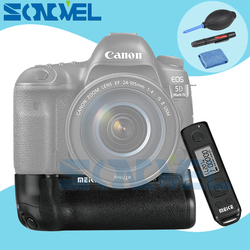 Meike MK-5D4 PRO Battery Grip With 2.4G Wireless Remote for Canon 5D Mark IV Camera as Canon BG-E20 Compatible for LP-E6 LP-E6N