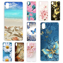 TPU Cases For Xiaomi Redmi 7A Case Silicone Floral Painted B