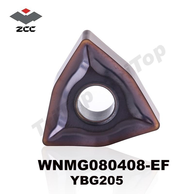 PROMOTIE-ITEM WNMG080408-EF YBG205 (WNMG432) Wolfraamcarbide PVD-gecoate wisselplaat voor uitwendig draaigereedschap WNMG 080408 -EF