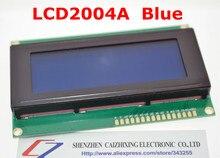 Бесплатная доставка плата 2004 20 * 4 ЖК 20 X 4 5 В синий экран LCD2004 жк-модуль жк-2004 2004 для arduino