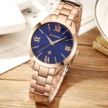 Watches Gifts For Women's Luxury Gold Steel Quartz Watch Curren Brand Women Watches 2018 Fashion Ladies Clock relogio feminino curren women watches luxury gold black full steel dress jewelry quartz watch ladies fashion elegant clock relogio feminino 9015