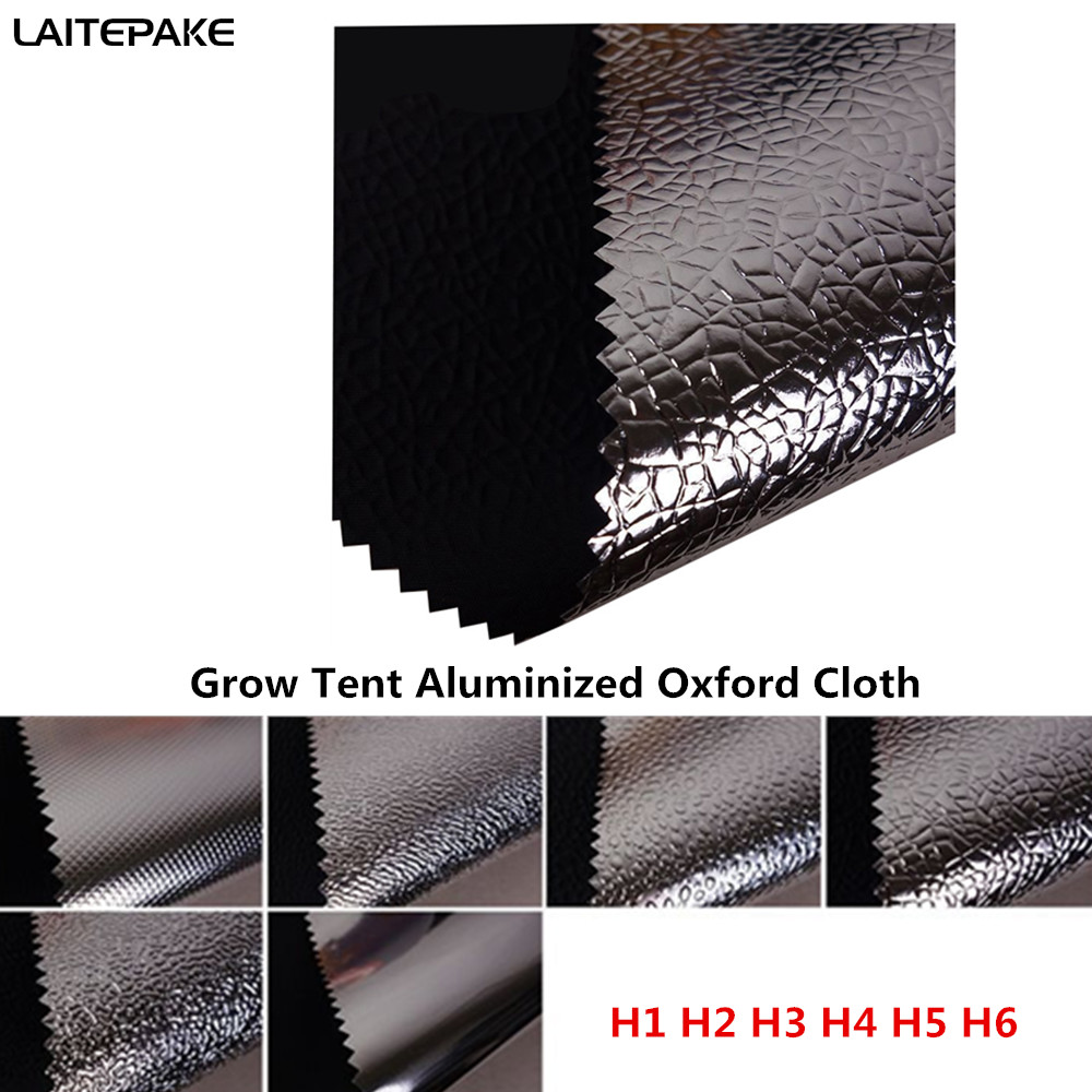 Grow Tent Cloth 145*100cm And DIY Custom Size Oxford Cloth Aluminized Film For Led Grow Light Indoor Hydroponics Greenhouse Tent