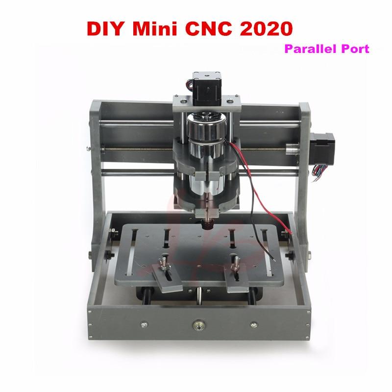 DIY mini CNC router machine 2020 Parallel port mini cnc milling machine free tax to RU diy cnc machine 2520 base frame kit cnc engraving machine router machine free tax to eu