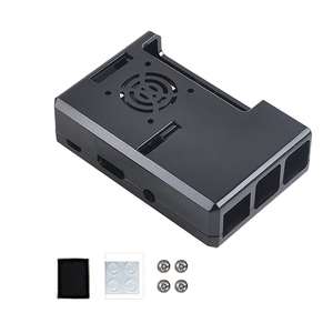 Image 5 - Raspberry Pi 3 защитный чехол Корпус для Raspberry Pi 2B/Pi 3B/Pi 3B +