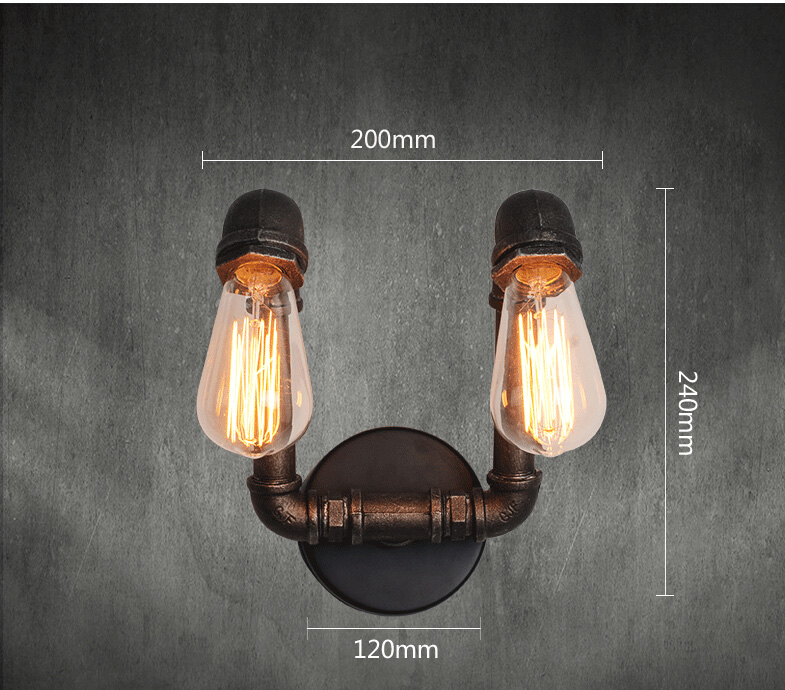 Wall Lamps Edison Retro American Rustic Loft Style Vintage Industrial Wall Light Wall Sconce For Home Indoor Outdoor Lighting Wall Lamps