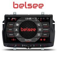 Belsee Android 8,0 автомобилей Радио Восьмиядерный PX5 Touch HD Экран gps навигация авто стерео Штатная мультимедиа No DVD для Lada Веста