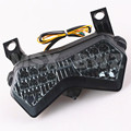 New LED Tail Light Taillight Turn Signal Lamp For Kawasaki Ninja ZX6R ZX6RR 2003 2004 / Z1000 2003 2004 2005 Smoke