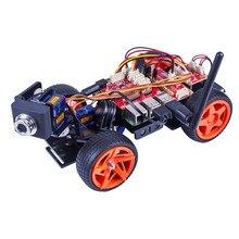SunFounder Дистанционное управление робот Комплект для Raspberry Pi 3 Смарт видео car kit V2.0 RC робот приложение Управление LED Игрушечные лошадки(RPI не входит в комплект