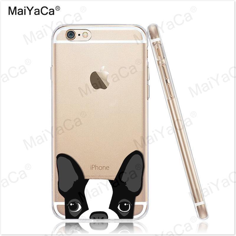 MaiYaCa pet dog Soft Transparent TPU Phone Case Case Cover Cover For - Ανταλλακτικά και αξεσουάρ κινητών τηλεφώνων - Φωτογραφία 2