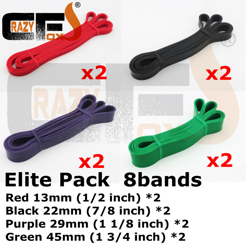 sell in pack Pull up band Resistance band Strength Bands Assisted Chins Xrossfit loop band