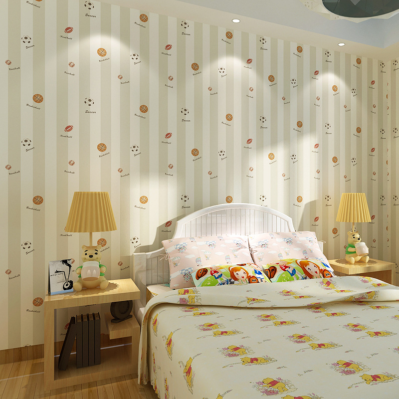 Beibehang Home Decoration Non Woven Wallpaper Kids Room British Wallpaper Boy Bedroom Cartoon 3d Wallpaper roll papel de parede beibehang children room non woven wallpaper wallpaper blue stripes car environmental health boy girl study bedroom wallpaper