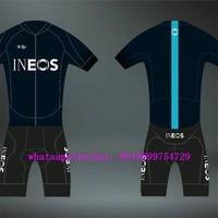 ineos cycling pro team kit 2019 blue dark aero custom cycling suit bike set jersey clothing wear hombre conjuntos de ciclismo