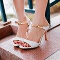 Tenis Feminino Nova Chegada Grande Plus Size Sapatos Femininos Sandálias 2016 de Salto Alto Sapato Feminino Verão Estilo Chaussure Femme X-1