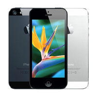 100% Factory Original Unlocked Iphone 5 Apple Cell phone 16GB 32GB ROM 16GB 32GB 64GB IOS 4.0 inch 8MP WIFI GPS Used