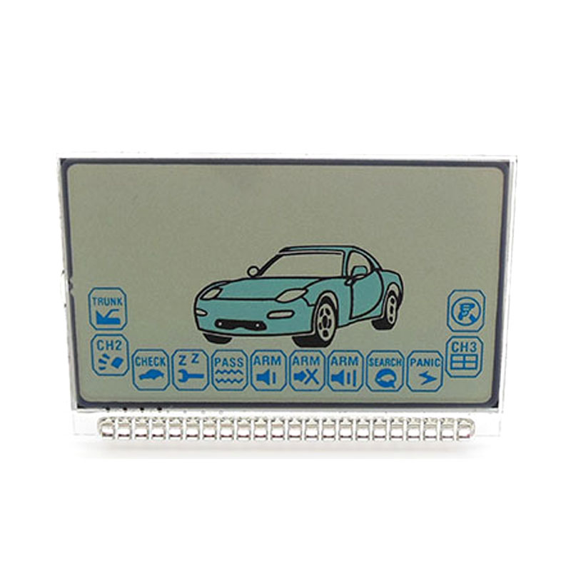 Russian Version EZ-ALPHA Lcd Display For Jaguar EZ-ALPHA Lcd Remote Two Way Car Alarm System