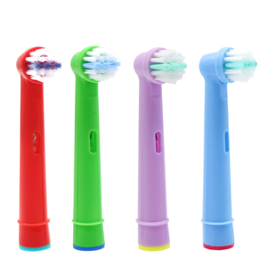 4pcs Replacement Kids Children Tooth Brush Heads For Oral-B Electric Toothbrush Fit Advance Power/Pro Health/Triumph/3D Excel