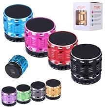 Portable Mini Bluetooth Speakers Metal Steel Wireless Smart