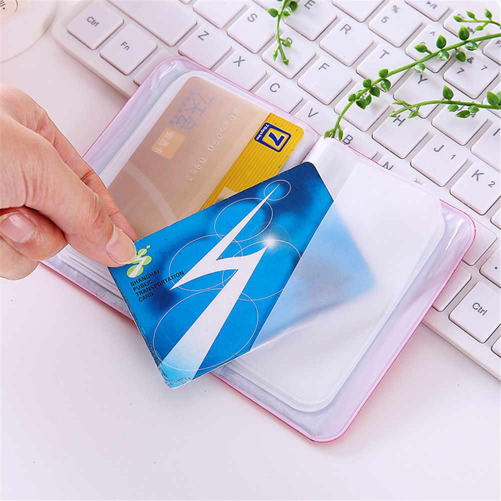 1PCS PU หนัง Candy สีสำหรับรถเอกสารการขับขี่ผู้ถือบัตรธุรกิจกระเป๋าสตางค์กระเป๋าสตางค์อัตโนมัติใบอนุญาต
