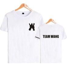 91d18d62 BTS KPOP GOT7Jackson T Shirt Women Men Unisex Korean Fashion K-POP GOT 7  Team Wang The Same Printed O-Neck Short Sleeve T-Shirt