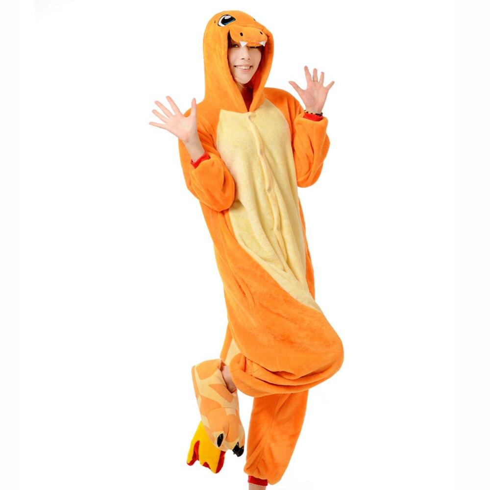 Christmas Pokemon Charmander Unisex Kigurumi Adult  Animal Cosplay Costume Pajam