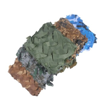 VILEAD proste 1 5 #215 4 5m Woodland niebieski zielony kamuflaż pustynny sieci Camo siatki bez krawędzi wiązania słońce schronienie samochodu pokrywa tanie i dobre opinie 1000mm Budowa w oparciu o potrzeby Namiot dla 3-4 osób camouflage netting 1 5mX4 5m 150D Polyester Oxford 0 48KG Edge binding and with mesh net reinforcement throughout the net