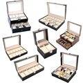 Чехол для часов из искусственной кожи  профессиональный органайзер для часов  коробка для хранения ювелирных изделий  чехол для дисплея  лу...