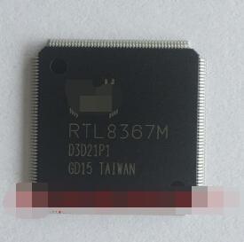 Free shipping  100% nuevo original RTL8367M-GR RTL8367M RTL8367 QFP176